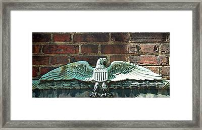 The Presidential Eagle Guards Dumbarton House Framed Print