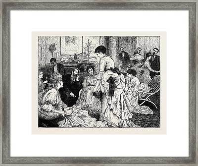The Presidential Election In America Framed Print