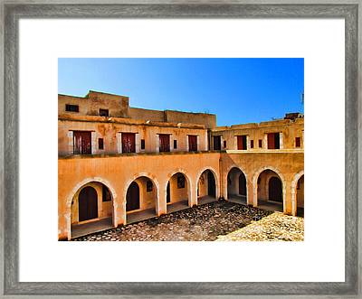 the Presnt Framed Print by Dhouib Skander