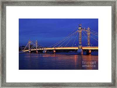 The Prettiest Bridge In Town. Framed Print by Pete Reynolds