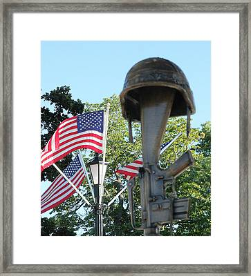The Price Framed Print by James Hammen