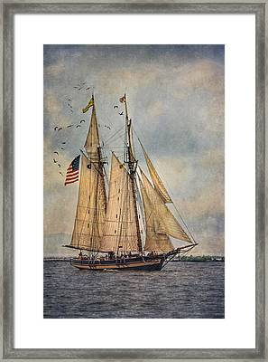 The Pride Of Baltimore II Framed Print by Dale Kincaid