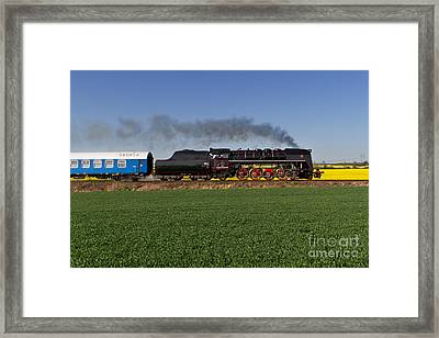 The Pride Of The Czech Locomotive Design Framed Print by Christian Spiller