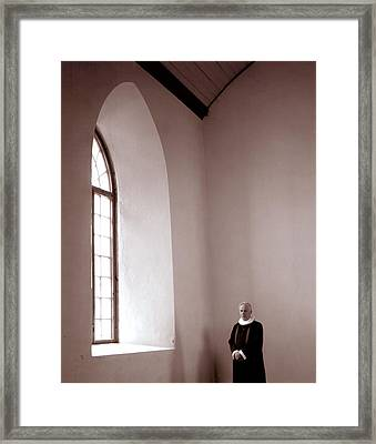 The Priest  C# 42 Framed Print