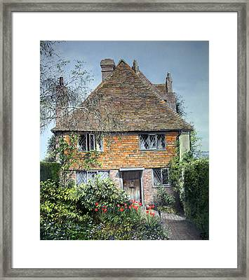 The Priests House Sissinghurst Castle Framed Print by Rosemary Colyer
