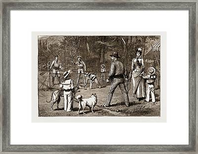 The Prince Of Wales At Baden-baden, The Jubilee Framed Print