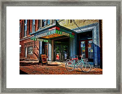 The Prince Theater Framed Print by Olivier Le Queinec