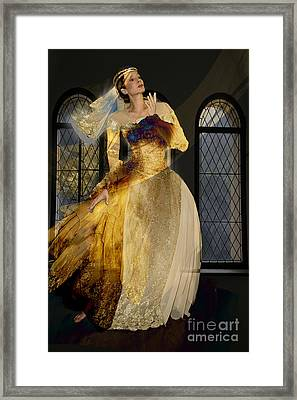 The Princess And The Pea Framed Print