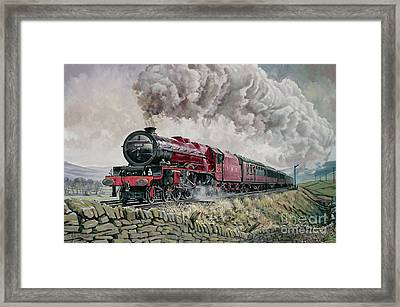 The Princess Elizabeth Storms North In All Weathers Framed Print by David Nolan