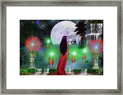 The Princess Framed Print by Michael Rucker