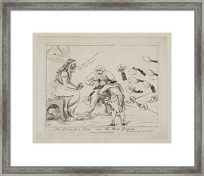 The Princess's Bow Alias The Bow Begum Framed Print by British Library