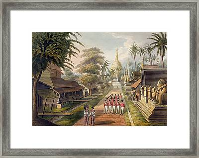 The Principal Approach To The Great Framed Print by Joseph Moore