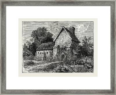 The Priory, Kilburn Framed Print by Litz Collection