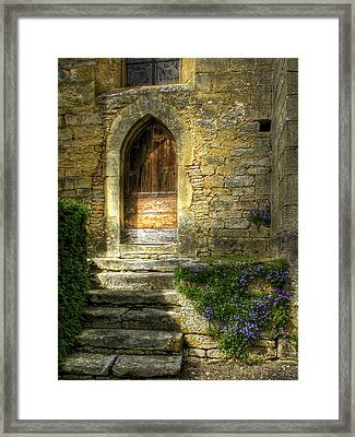 The Private Entrance Framed Print