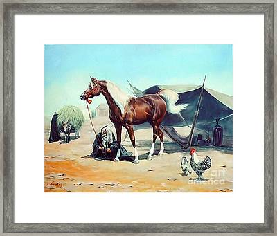 The Prize Framed Print by Jeanne Newton Schoborg