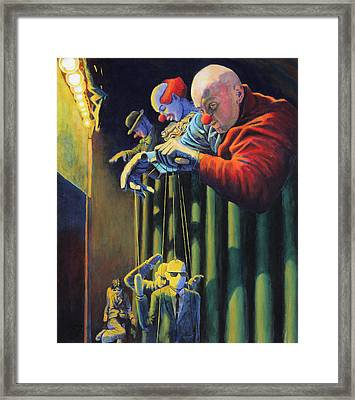 The Process Framed Print by Mike Walrath