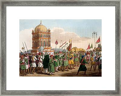 The Procession Of The Taziya, From The Framed Print by Deen Alee