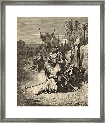 The Prodigal Son Framed Print by Antique Engravings