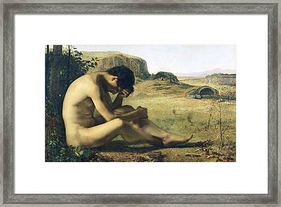 The Prodigal Son  Framed Print by Emile Salome