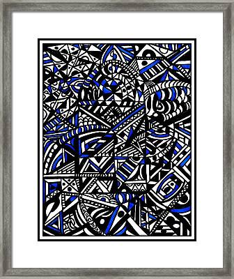 The Production Line Framed Print by Wendie Busig-Kohn