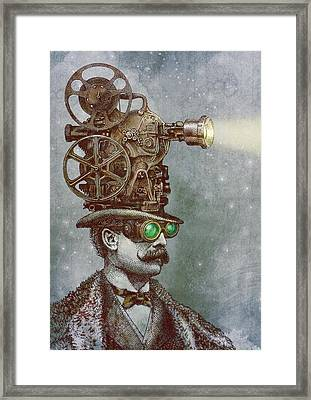 The Projectionist Framed Print by Eric Fan