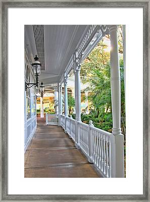 The Promenade Framed Print