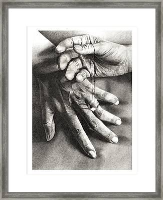 The Promise Framed Print by Albert Casson