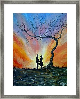 The Promise Framed Print by Deda Happel