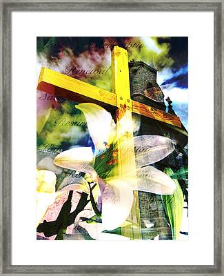 Framed Print featuring the photograph The Promise by Eleanor Abramson