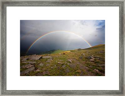 Framed Print featuring the photograph The Promise by Jim Garrison