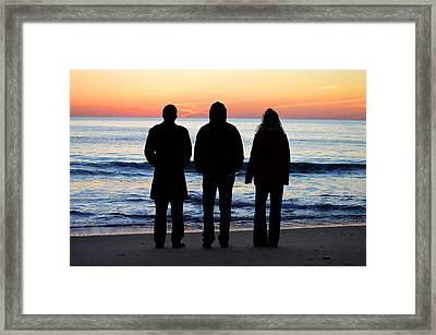 The Promise Of A New Day Framed Print