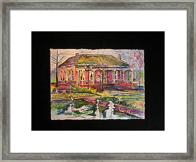 The Promonade Framed Print