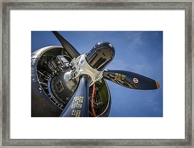 The Prop Framed Print by Bradley Clay