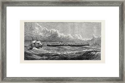 The Proposed Channel Ferry The Ferry Steamer The Steamer Framed Print