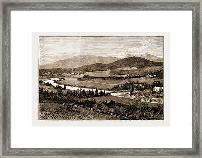 The Proposed Railway Near Balmoral, Scotland Framed Print by Litz Collection