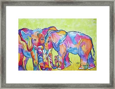 The Protectors Framed Print by Ellen Levinson