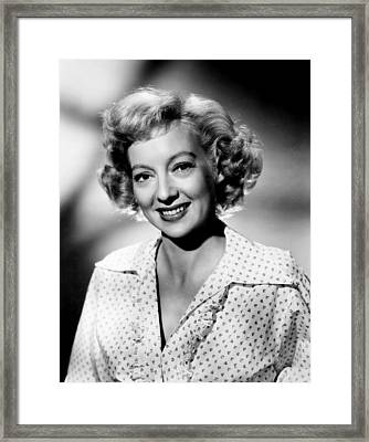 The Prowler, Evelyn Keyes, 1951 Framed Print