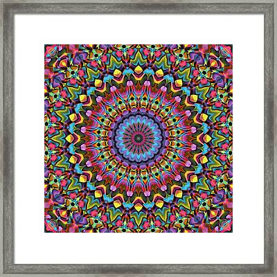 The Psychedelic Days Framed Print by Lyle Hatch