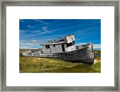 The Pt. Reyes Muted Framed Print
