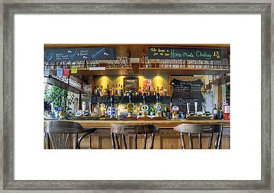 The Pub Framed Print by Geraldine Alexander