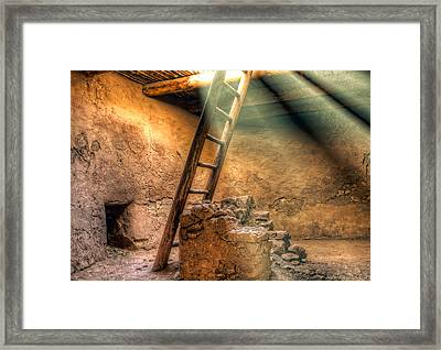 The Pueblo Cermonial Room Framed Print
