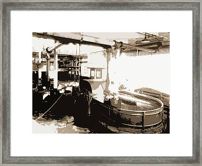 The Pulp Is Ground And Sizing Added, Paper Industry Framed Print by Litz Collection