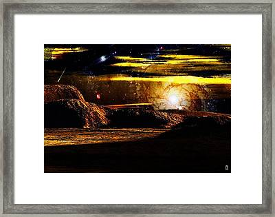 The Pulsing Universe Framed Print by Mario Carini