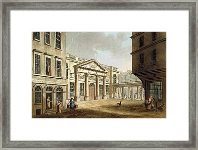 The Pump Room, From Bath Illustrated Framed Print