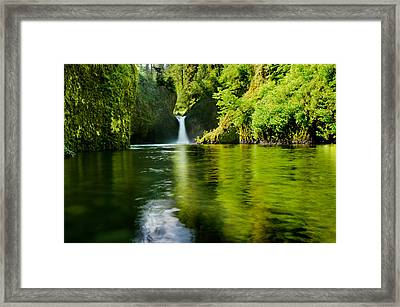 The Punchbowl Framed Print by Tony Murray