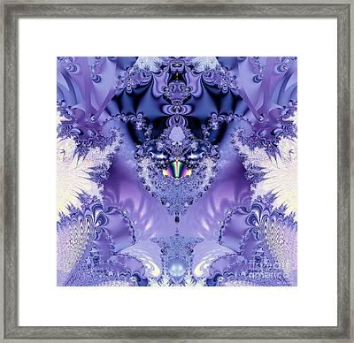 The Purple Heart Framed Print by Maria Urso