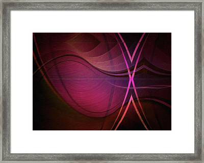 The Purple Spell Framed Print by L Wright