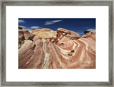 The Purple Wave 2 Framed Print by Bob Christopher