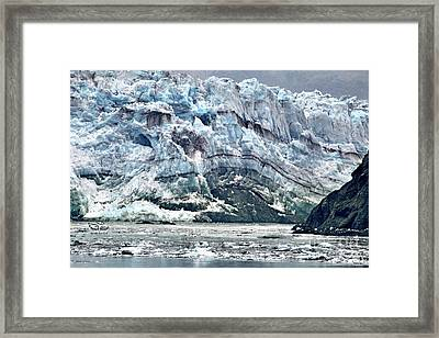 The Push Framed Print