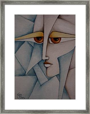 The Puzzle Framed Print by Simona  Mereu
